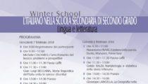 L'ITALIANO NELLA SCUOLA SECONDARIA DI SECONDO GRADO