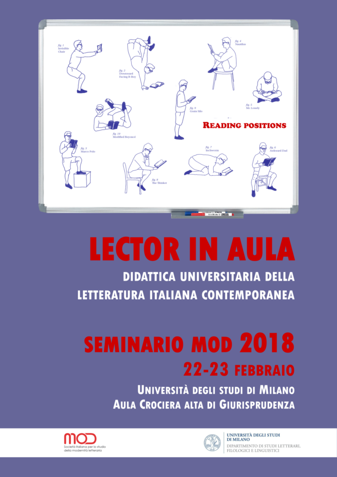 Lector in aula. Didattica universitaria della letteratura italiana contemporanea