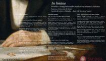 In limine. Postille e marginalia nella tradizione letteraria italiana