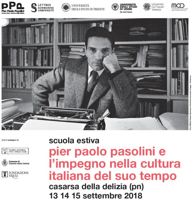 Scuola estiva Pier Paolo Pasolini
