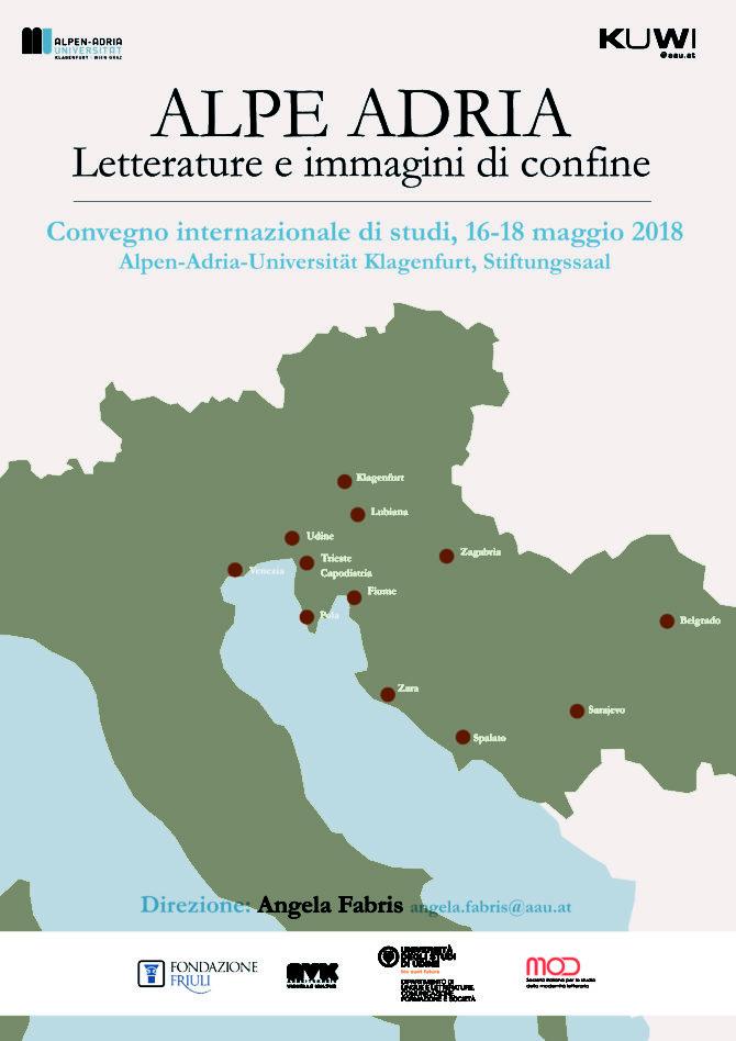 Alpe Adria Letterature e immagini di confine
