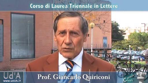 Scomparsa di Giancarlo Quiriconi