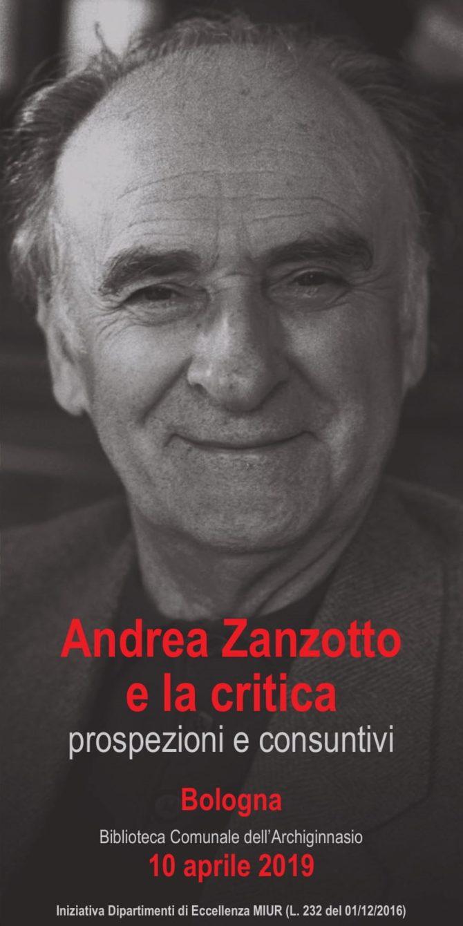 Andrea Zanzotto e la critica