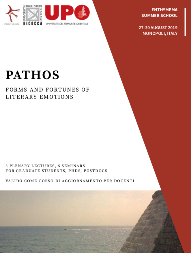 Pathos: Forms and Fortunes of Literary Emotions