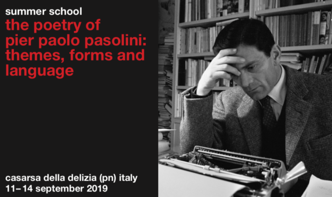 The Poetry of Pier Paolo Pasolini: Themes, Forms and Language