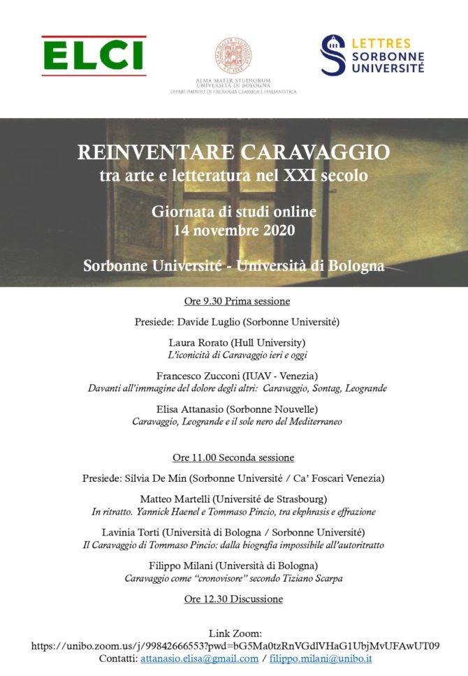 Reinventare Caravaggio