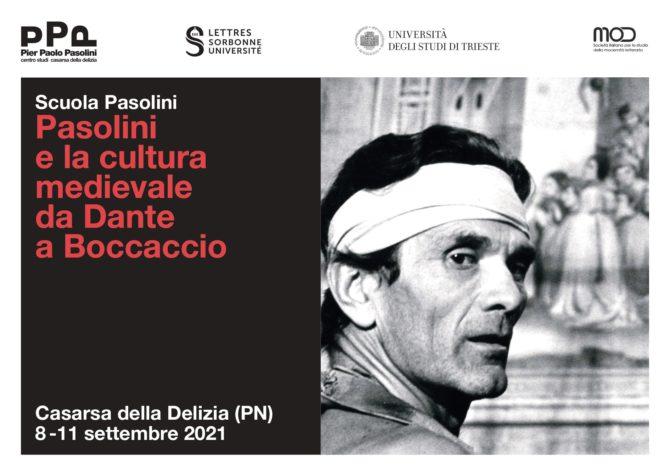Pasolini e la cultura medievale da Dante a Boccaccio