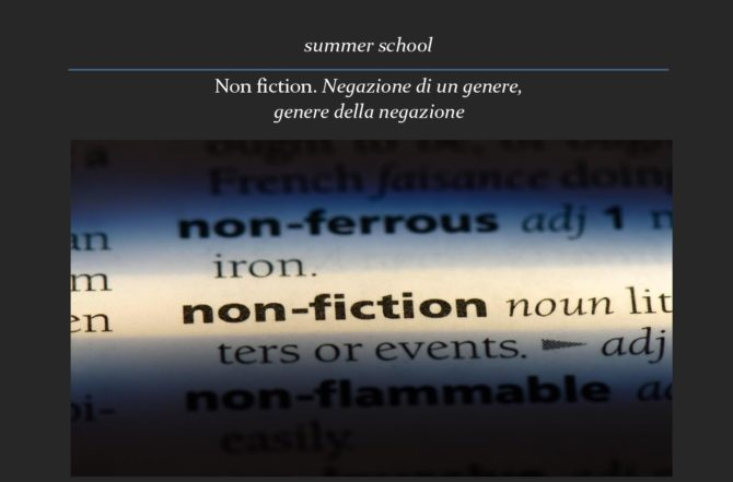 Summer School Non Fiction